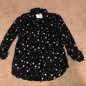 Justice Size 8 star blouse